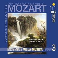 Mozart: String Quintets K.516 & 593 (2002-05-21)
