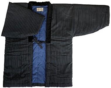 久留米手づくりはんてん紳士用・日本製・中わた綿(cotton)入り (76)