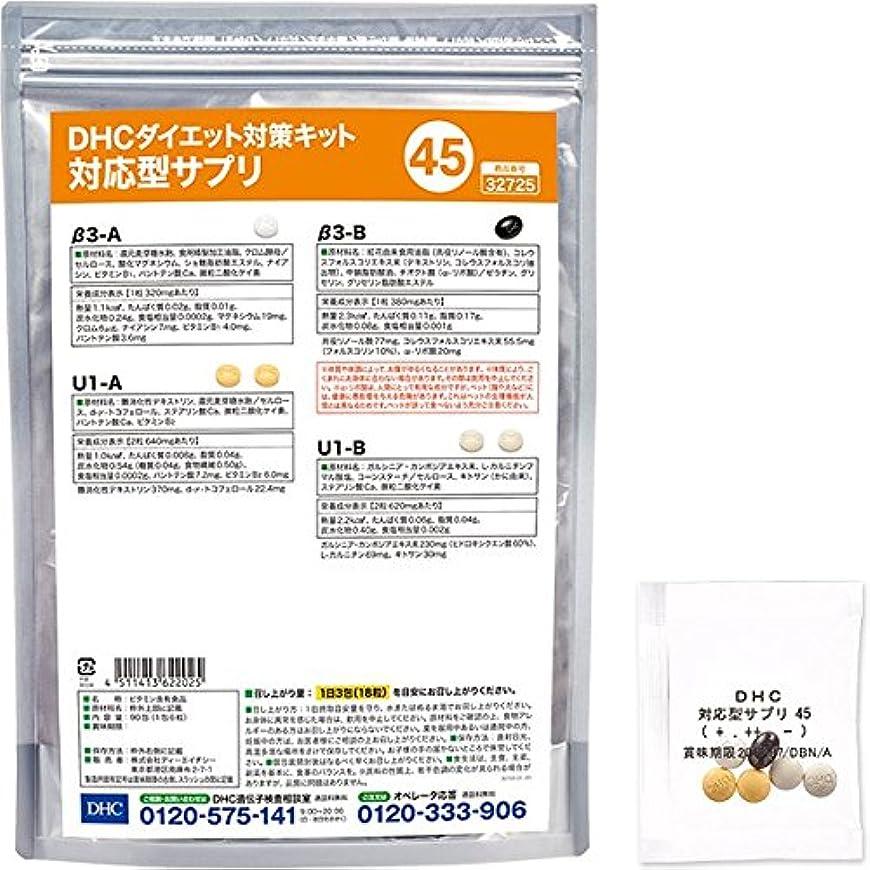 グラムマングル映画DHCダイエット対策キット対応型サプリ45