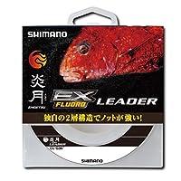 シマノ(SHIMANO) ショックリーダー 炎月 真鯛 EX フロロカーボン 30m 6.0号 クリアー CL-G26P