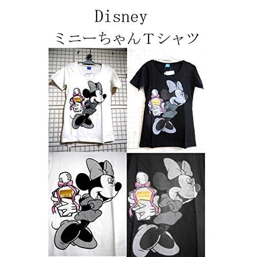 Disney  ミニーちゃんTシャツ  <  ミニーマウス ミッキーマウス  ミニーーTシャツ  ミニー  MINNIE Tシャツ minnie  T ミッキー mickey MICKEY MOUSE ディズニー ディズニーランド > (ホワイト)