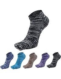 [インソミラ] InSomila 5本指 靴下 ソックス 5色セット くるぶし丈 蒸れない メンズ レディース 吸汗
