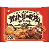 不二家 カントリーマアム バニラ&ココア 20枚入 【3袋セット】