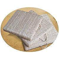 和風茶道マット織り窓クッション畳瞑想クッション瞑想仏壇ヨガ布団クッション,50x50x6