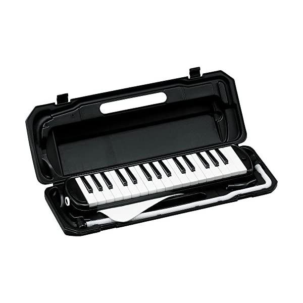 KC 鍵盤ハーモニカ ブラック 32鍵 P300...の商品画像