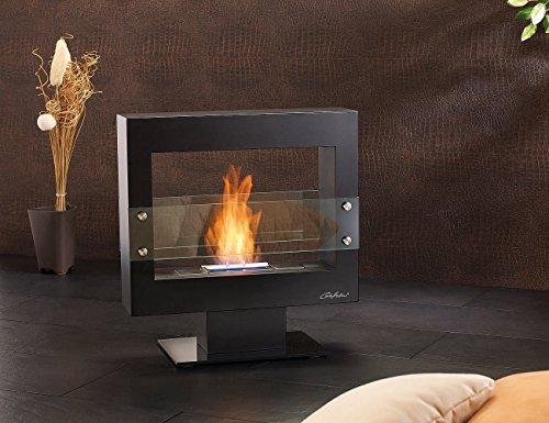 バイオエタノール暖炉 ブラッ...