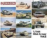 ドラゴン 1/144 ミニアーマーシリーズ (10個入) Vol.2 現用車輌コレクション プラモデル DR14052