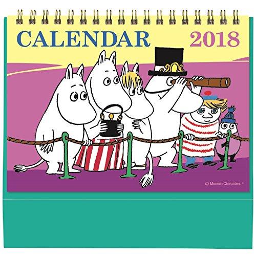 学研ステイフル ムーミン 2018年 カレンダー 卓上 ポップアップ M11076