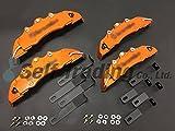 30系アルファード&ヴェルファイア専用 ブレーキキャリパーカバー オレンジ ◆フロント&リア 1台分◆