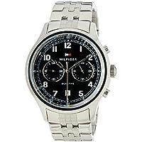 Tommy Hilfiger Men 1791389 Year-Round Analog Quartz Silver Watch