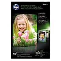 HP EVERYDAY PHOTO PAPER, GLOSSY, 4X6, 100 SHEETS. AFFORDABLE PHOTO PAPER FOR ALL