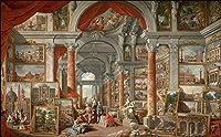 Bzbhart 3D壁紙壁画シルクの壁のステッカーローマのギャラリー風景画の背景の壁の壁紙-200cmx140cm