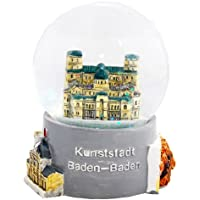 30006 【Minium Collection】 Snowdome スノーグローブ。 German Souvenir Snow Globe Glitterdome ドイツの都市