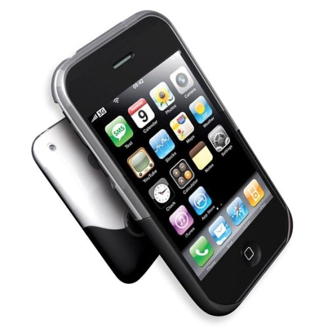 ペルー砲撃ペットifrogz iPhone 3G Luxe Case - Clear/Black iphone3g-st-cb