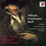 Sinfonias / Suite in G Minor / Harpsichord Cto by W.F. Bach (1997-05-20)