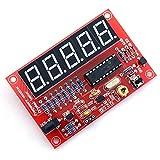 SODIAL 50MHz水晶発振周波数カウンタテスターDIYキット 5デジタルディスプレイ解像度 赤