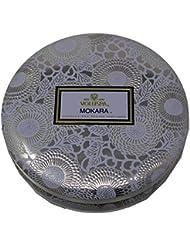 Voluspa ボルスパ ジャポニカ 3-Wick ティンキャンドル L モカラ JAPONICA Wick Tin Candle MOKARA