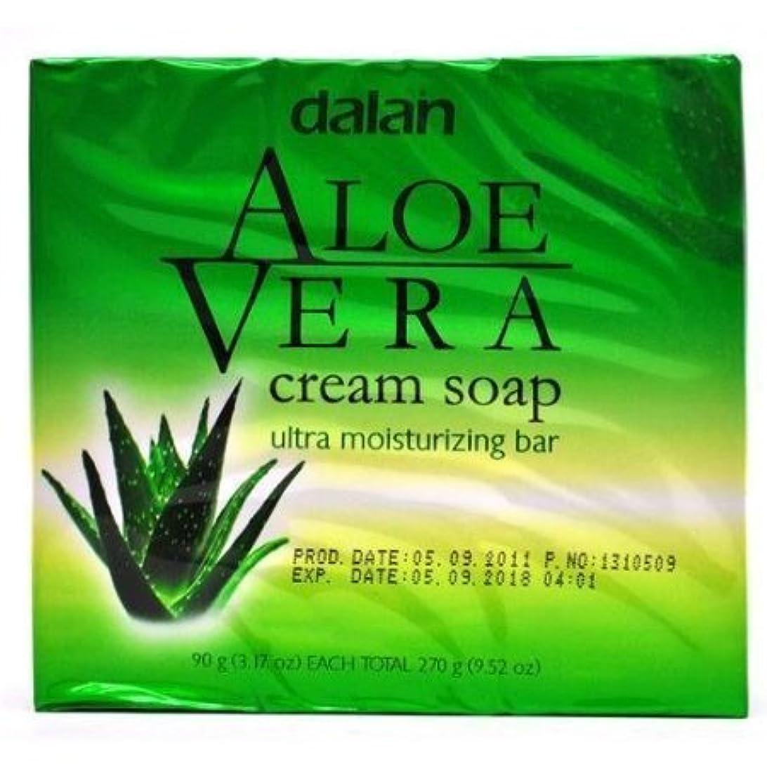 重力プロポーショナル裸Aloe Vera Cream Soap Ultra Moisturizer Conditioning 9.52 Oz [並行輸入品]