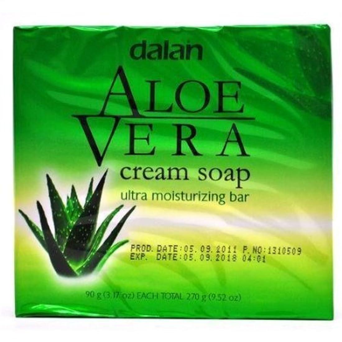 朝ごはん征服するソートAloe Vera Cream Soap Ultra Moisturizer Conditioning 9.52 Oz [並行輸入品]