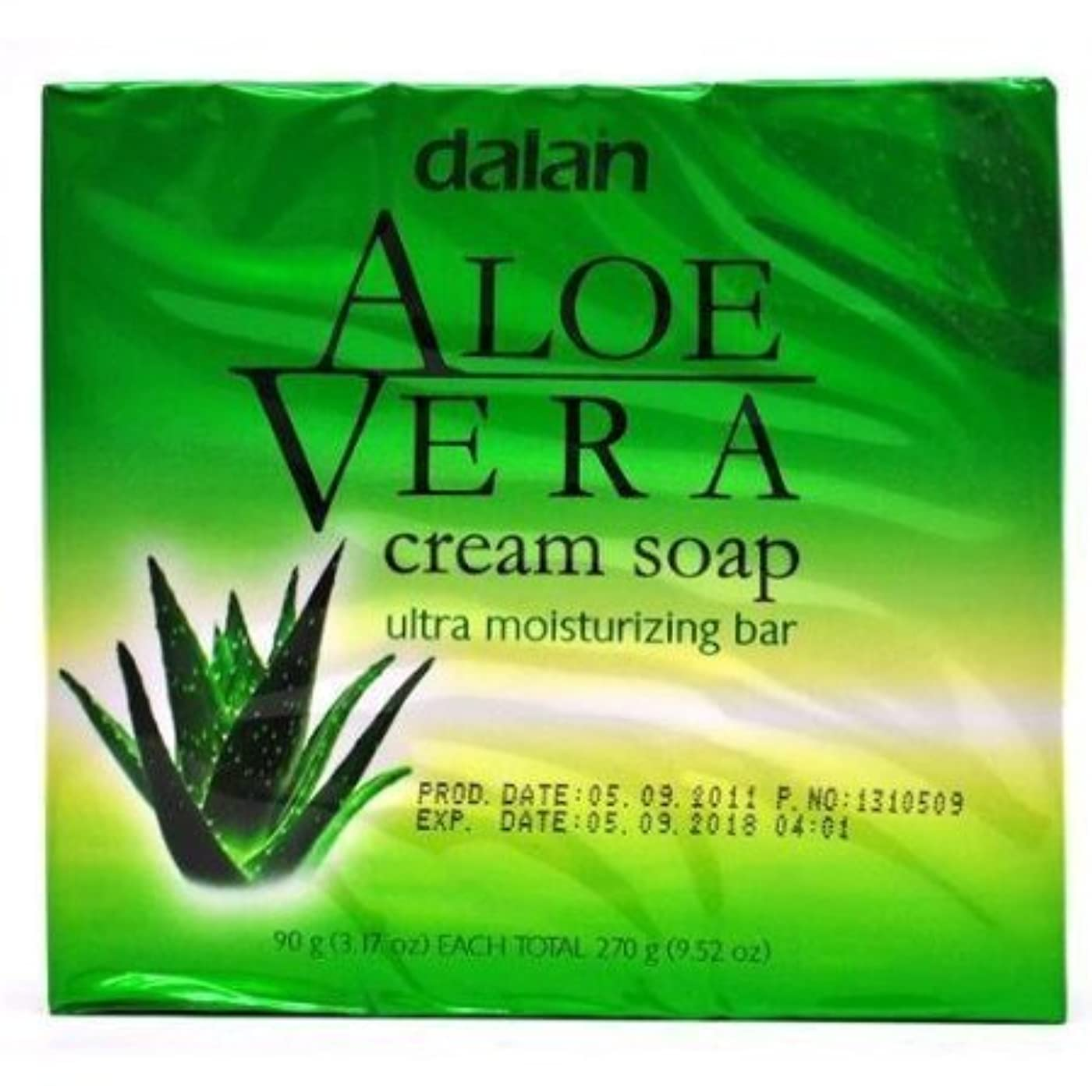 つなぐ真実スペースAloe Vera Cream Soap Ultra Moisturizer Conditioning 9.52 Oz [並行輸入品]
