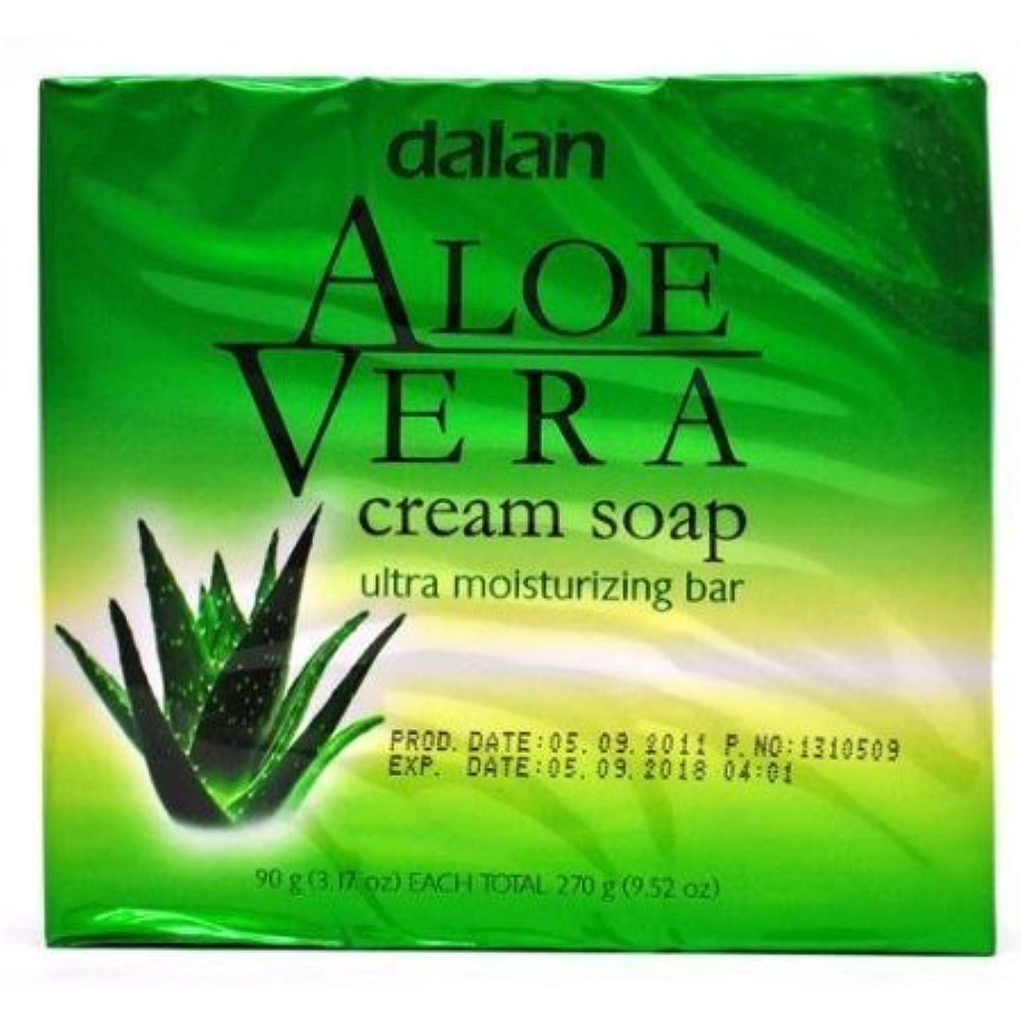 咽頭グッゲンハイム美術館更新Aloe Vera Cream Soap Ultra Moisturizer Conditioning 9.52 Oz [並行輸入品]