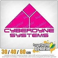 KIWISTAR - Cyberdyne Systems Terminator 15色 - ネオン+クロム! ステッカービニールオートバイ