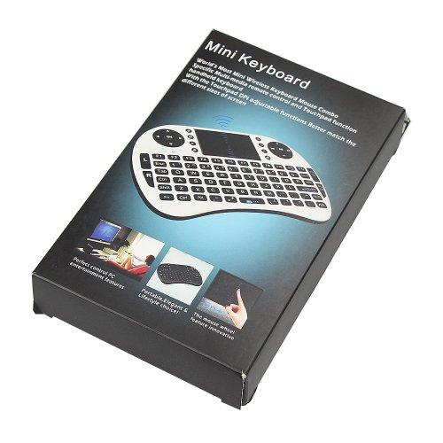 ipazzport 2.4G Mini i8 keyoard ミニワイヤレスキーボード Google TV Box/PS3/PC 対応