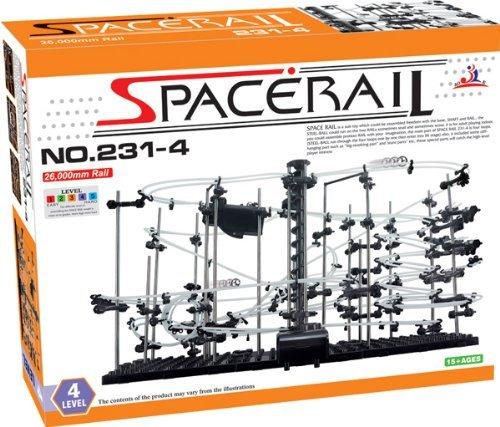 無限ループ スペースレール パズル 知育 脳トレ★レベル4★◇MI-SPACERAIL-4