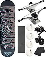 "Creature Skateboards Phantasmスケートボード8"" x 31.6"" Complete Skateboard–7項目のバンドル"