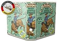 バインダー 2 Ring Binder Lever Arch Folder A4 printed Rodeo Championship