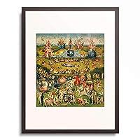 ヒエロニムス・ボス Hieronymus Bosch 「The Garden of Earthly Delights」 額装アート作品