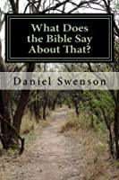 What Does the Bible Say About That? [並行輸入品]