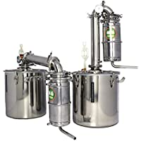25L Transformer wine maker brew kit Alcohol Distiller household stainless