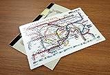 JR東日本 東京近郊路線図下敷き2018
