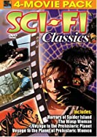 Sci-Fi Classics 4-Movie Pack (Horrors of Spider Island; The Wasp Woman; Voyage to the Prehistoric Planet; Voyage to the