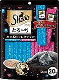 シーバ (Sheba) シーバ とろ~り メルティ かつお味セレクション 12g×20本