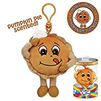 Whiffer Sniffers Marty McPie Pumpkin Pie Scented Backpack Clip 【You&Me】 [並行輸入品]