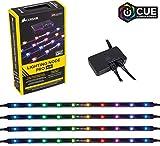 CORSAIR Lighting Node PRO RGBコントローラー&ライティングストリップセット CL-9011109-WW