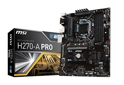 MSI H270-A PRO マザーボード [Intel H270チップセット搭載] MB4136