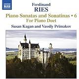 Piano Sonatas Vol. 6-Three Sonatas for Piano Duet