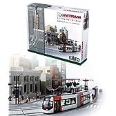 【カトー】ユニトラム スターターセット 富山ライトレール TLR0600(40-900) KATO鉄道模型Nゲージ