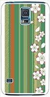 ohama SCL23 GALAXY S5 ギャラクシー ハードケース ca1270-4 和柄 花柄 ストライプ スマホ ケース スマートフォン カバー カスタム ジャケット au