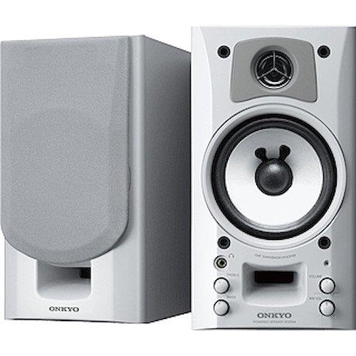 ONKYO WAVIO パワードスピーカーシステム ハイレゾ音源対応 ホワイト ホワイト GX-70HD2(W)