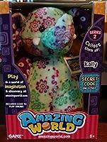 Amazing World Series 2 Kally the Elephant Interactive Plush Toy - 5.5 [並行輸入品]
