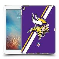 オフィシャル NFL ストライプ ミネソタ・バイキングス ロゴ iPad Pro 9.7 (2016) 専用ハードバックケース