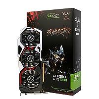 カラフルなNvidia Geforce GTX iGame 1080GPU 8GB 256bitゲームgddr5X PCI - E x163.0グラフィックスカードDVI + HDMI + 3dpポート3冷却ファン