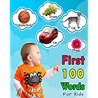 First 100 Words For Kids: First Words Book (First words and pictures) (English Edition)