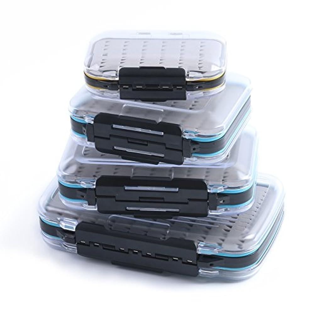 スクレーパー郡準拠(Size A, Easy Grip Foam) - Maxcatch Two-sided Waterproof Fly Box Slit Foam/Easy Grip Foam Fly Fishing Box