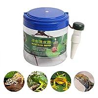 ペット用水飲み場 熱帯雨林のシリンダー加湿器  自動散水スプリンクラー