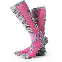 Ulikelife スキー 靴下 暖かい 多機能スポーツソックス 登山 スキー スノーボード 用ソックス 靴下 トレッキング 遠足 徒歩 男女兼用 1 / 3 / 4 足入り
